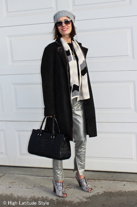 Katzengold And Silver Pants Turning Fashion Into Style In
