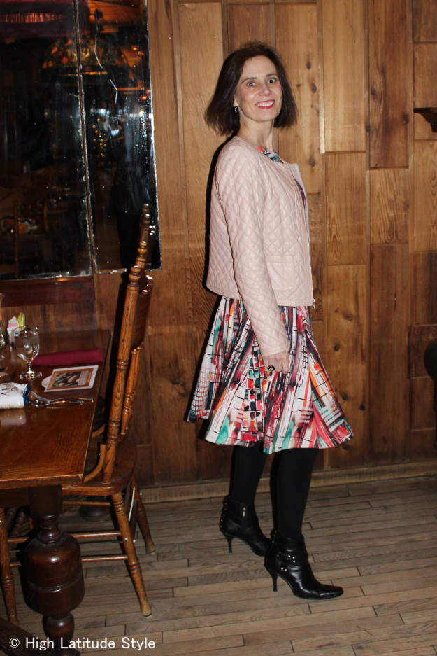 See How I Transition My Summer Dress For Fall Turning Fashion Into Style In Midlife High
