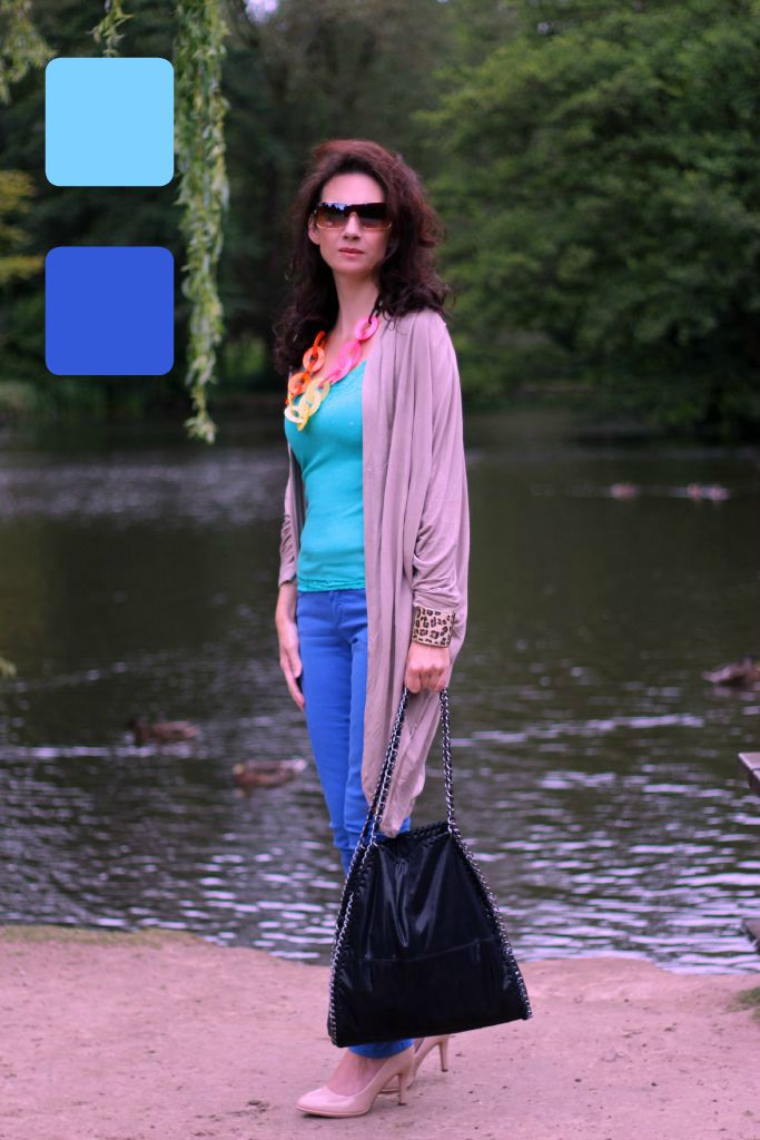 How To Wear Analogous Color Guest Post Posh Chic In Midlife High Latitude Style